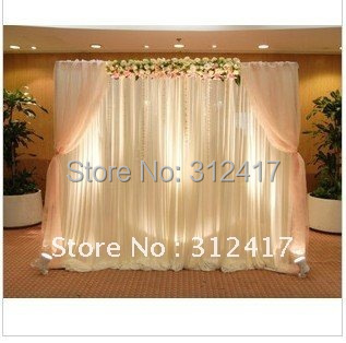 Top rated lovely 10x10 backdrop wedding reception , curtain backdrop ...