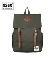 8848 Men Backpacks Amy Green Casual Bags 100 Polyester Free Shipping Knapsack Solid Simple Pattern Laptop