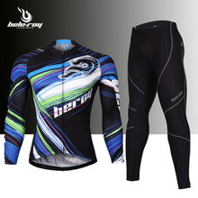 2016 Rock Racing team long sleeve cycling suits mens autumn cycling wear clothes man bicycle bike riding cycling jerseys set