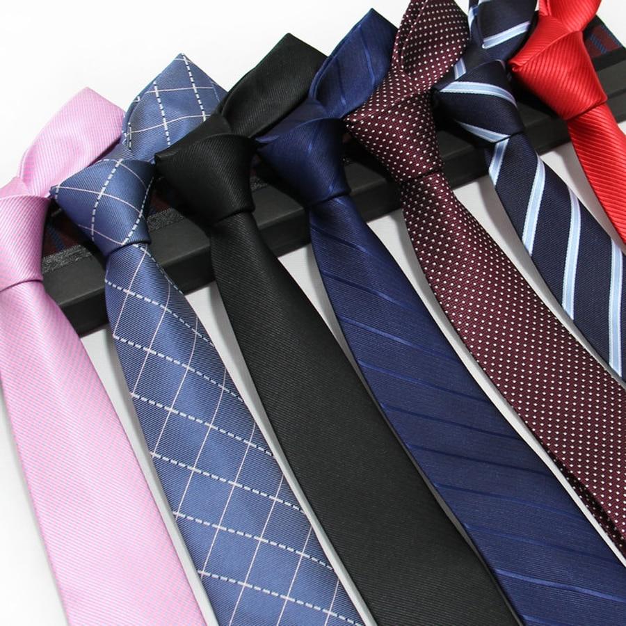 YISHLINE 7CM Stripes Plaids Dots Classic Men Ties Polyester Silk Bridegroom Wedding Business Necktie Neck Tie Fashion Neckwear