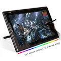 Новый Huion 18.4 Дюймов Графический Монитор TFT 1366x768 Разрешение HDMI GT-185 для ПК Выигрывает, Mac, неопудренные Перчатки, DP к HDMI/VGA/DVI Адаптер