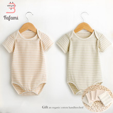 2 pcs/lot Baby Bodysuit for newborn baby boy girl Organic Tiny Cottons Baby clothes lucky child baby clothing jumpsuit bodysuits(China)