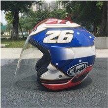 ARAI двойной Применение мотоциклетный шлем в виде черепа Новинка Ретро-шлем полушлем для мотоцикла