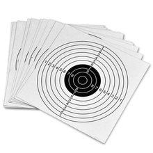 Ограниченное предложение Стрельба Бумага целей (5.5 «100 шт.) стрельба из лука Интимные аксессуары целевой Бумага 3.0 для Airgun, airsoft блочного Лука Стрельба