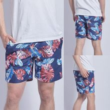 2018 Men's Swim Trunks New Summer Quick Dry Beach Surfing Board Shorts Bathing Short Elasticized Waistband With Drawstring #7(China)