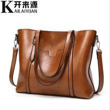08f7782c4f KLY 100% en cuir véritable femmes sacs à main 2019 nouveau classique vent  portable grand sac sac à bandoulière tempérament femme.