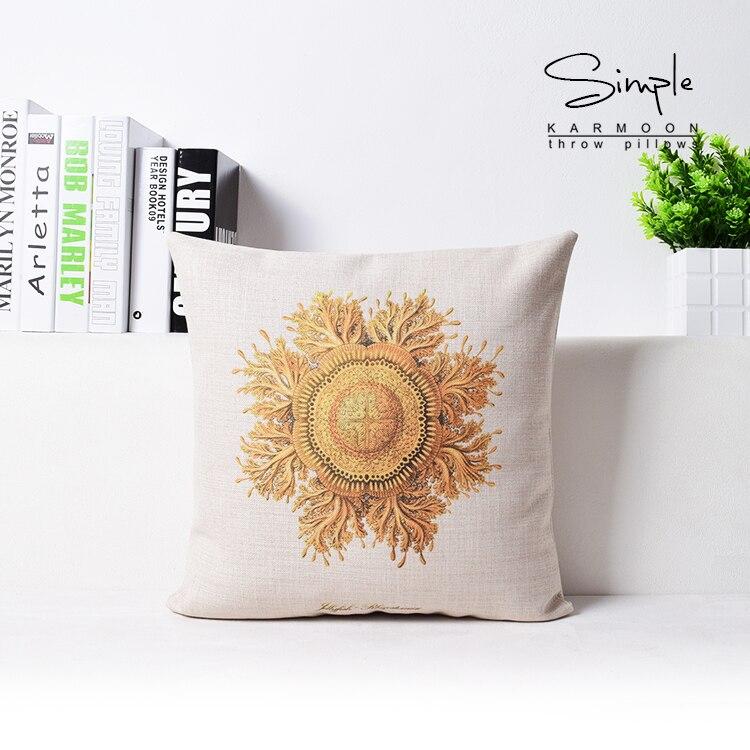 45*45cm Decorative Throw Pillows Flower Pattern Cushion Garden Chair Cushions Home Decor For Sofa Hot Sale