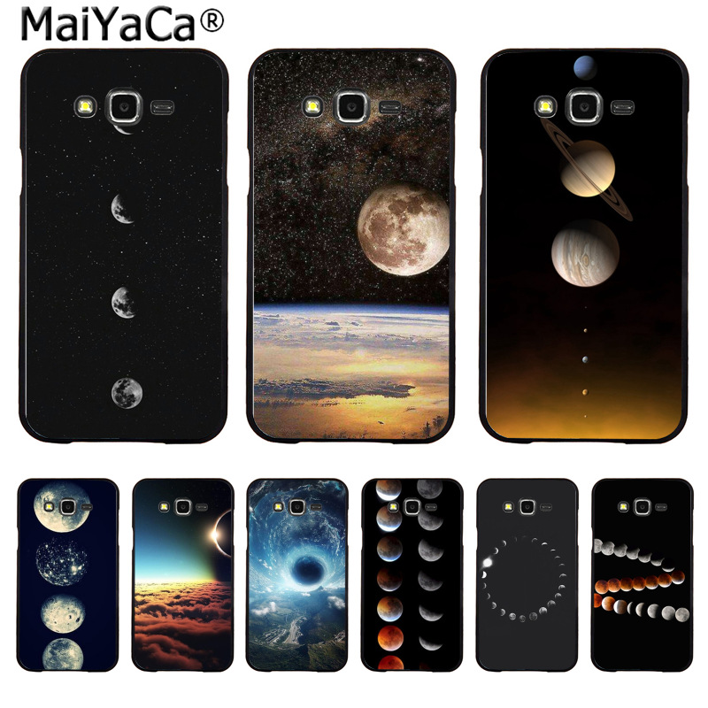 Cellphones & Telecommunications Half-wrapped Case 100% True Maiyaca Planet Simple Pattern Space Eclipse Of The Moon Fashion Phone Case For Samsung 2015j1 J5 J7 2016j1 J3 J5 J7 Note3 4 5 Bracing Up The Whole System And Strengthening It