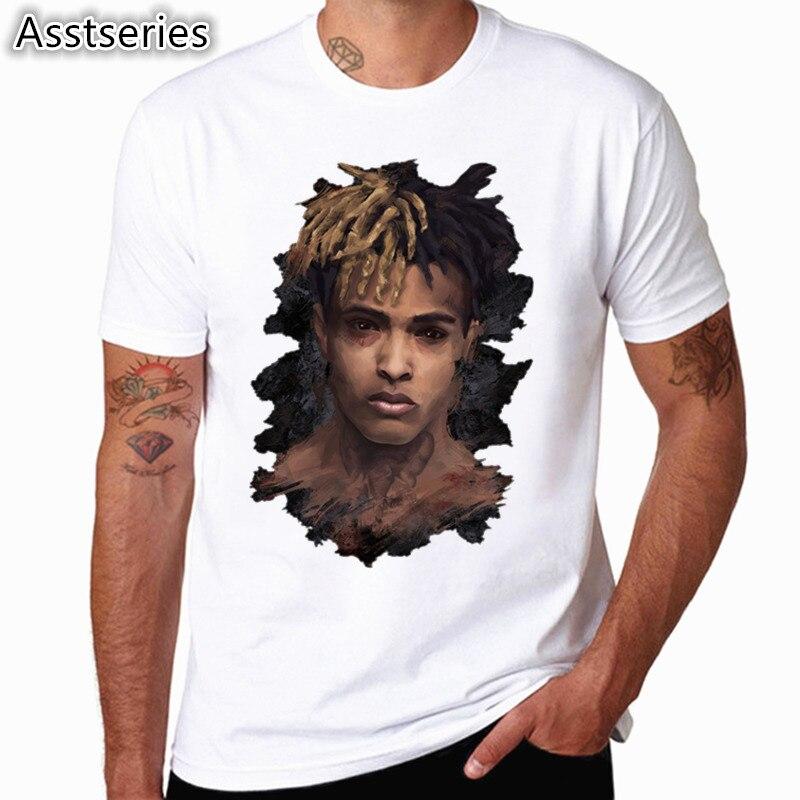 Xxxtentacion R.I.P Character T-Shirt Casual O-neck Men And Women Asian Size T Shirt Summer Short Sleeve Unisex Clothing HCP4478 day dress