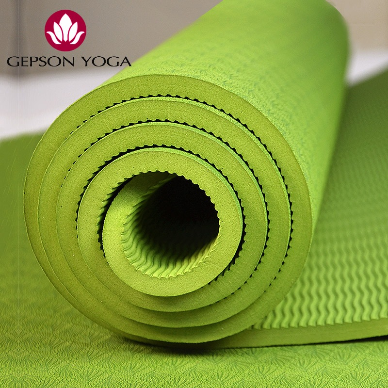 Jay Park yoga mat TPE tasteless 6mm thick yoga mat non slip fitness more pad special