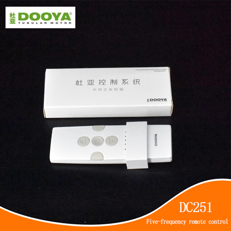 DOOYA DC251 Five-frequency Control Motor Remote Control For DOOYA Sunflower Aladdin Motor