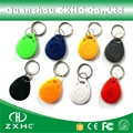 (10 unids) T5577 125 KHz Regrabable de Tarjetas de Control de Acceso RFID Tag Keyfobs Llavero Buscador de Claves para la Copia