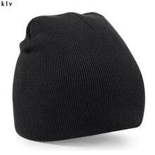Женщин Мужские Трикотажные Зима Теплая Негабаритных Слауч Hat Cap Мешковатые Шапочки Унисекс
