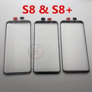 Image 3 - Màn Hình LCD Thay Thế Trước Màn Hình Cảm Ứng Bên Ngoài Kính Cường Lực Dành Cho Samsung Galaxy Samsung Galaxy S8 G950 G950F & S8 Plus G955 G955F S9 s9 + Dụng Cụ Sửa Chữa