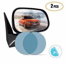 Auto Antipioggia Specchio Retrovisore Sticker Flim Anti fog Impermeabile Auto Finestra Specchio Trasparente di Ricambio