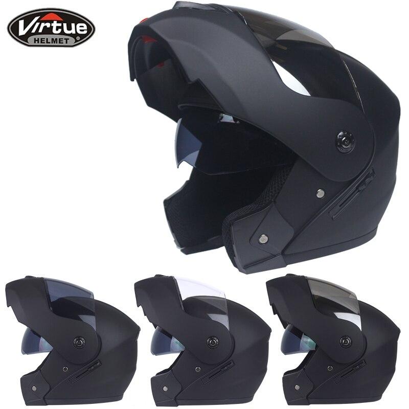 Free Shipping Dual Visor Modular Flip Up helmet motorcycle helmet racing Motorcross helmet DOT approved
