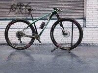 142 12MM Thru Axle Carbon Mountain Bike Frame 29er Complete MTB Bike T800 Carbon Mountain Bike