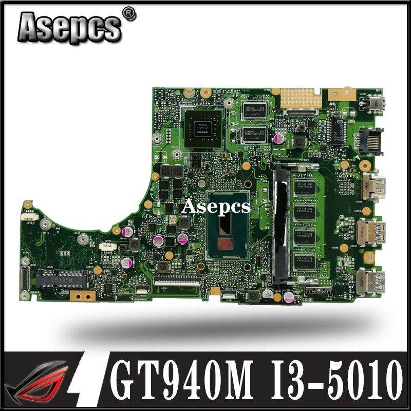 Asepcs K401LB GT940M/2G/I3-5010CPU/DDR3L 4GB RAM carte mère pour ASUS K401L K401LB K401 ordinateur portable carte mère Test OK