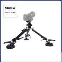 ASXMOV XP2 Car Sucker Mount filming Stabilizer Car suction Cup Mini Photo Tripod For Digital dslr camera/Video camera/Camcorder