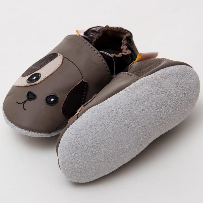 Erste Wanderer Babyschuhe Tier Echtes Leder Baby Mokassins Weiche - Babyschuhe - Foto 2