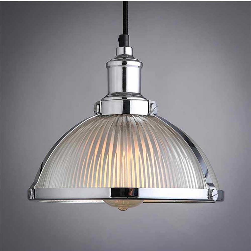 Винтажный Лофт подвесной светильник из кованого железа ретро подвесной светильник Эдисона промышленный бар гостиная хром E27 подвесные лампы ZDD0066