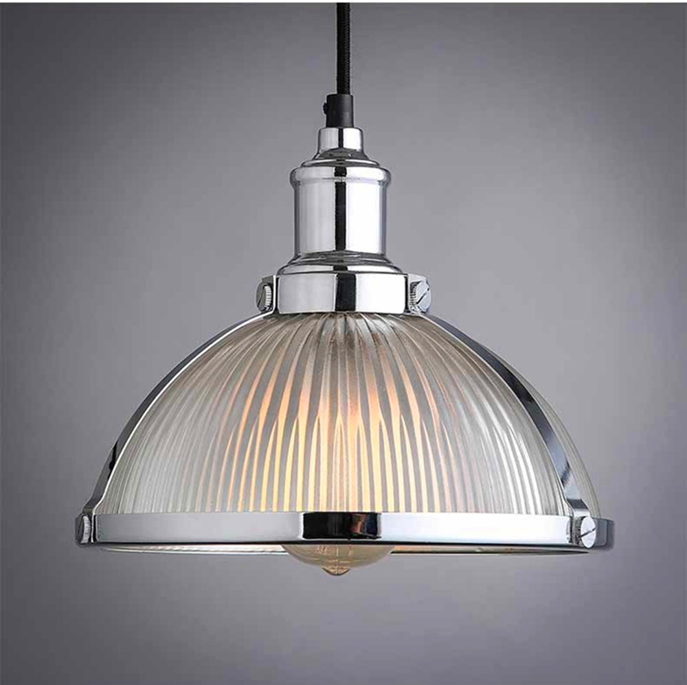 Vintage Loft Pendant Lights Wrought Iron Retro Edison Hanging Lamp Industrial Bar Living Room Chrome E27 pendant Lamps ZDD0066