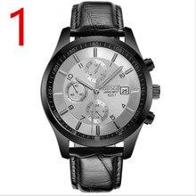 2019 Novo Relógio de Forma Concisa Unisex Negócio Luxo Casual relógio de Pulso de Aço Inoxidável Excelente quality23