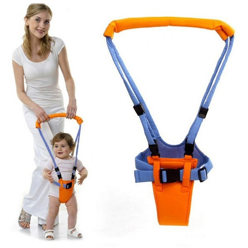 Moon Walk Baby Basket Type Toddler Child Walker Belt For 6-24 Months Baby