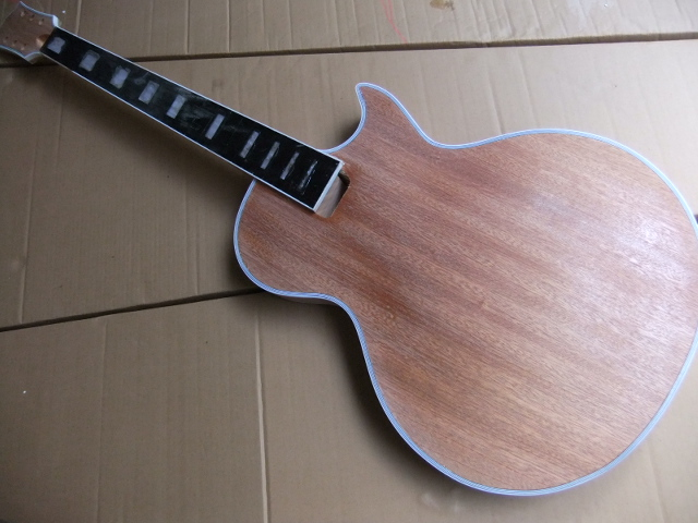 Wholesale  LP Custom electric guitar Body Made of mahogany body/neck 100724 hot selling chinese black lp custom electric guitar mahogany guitar body