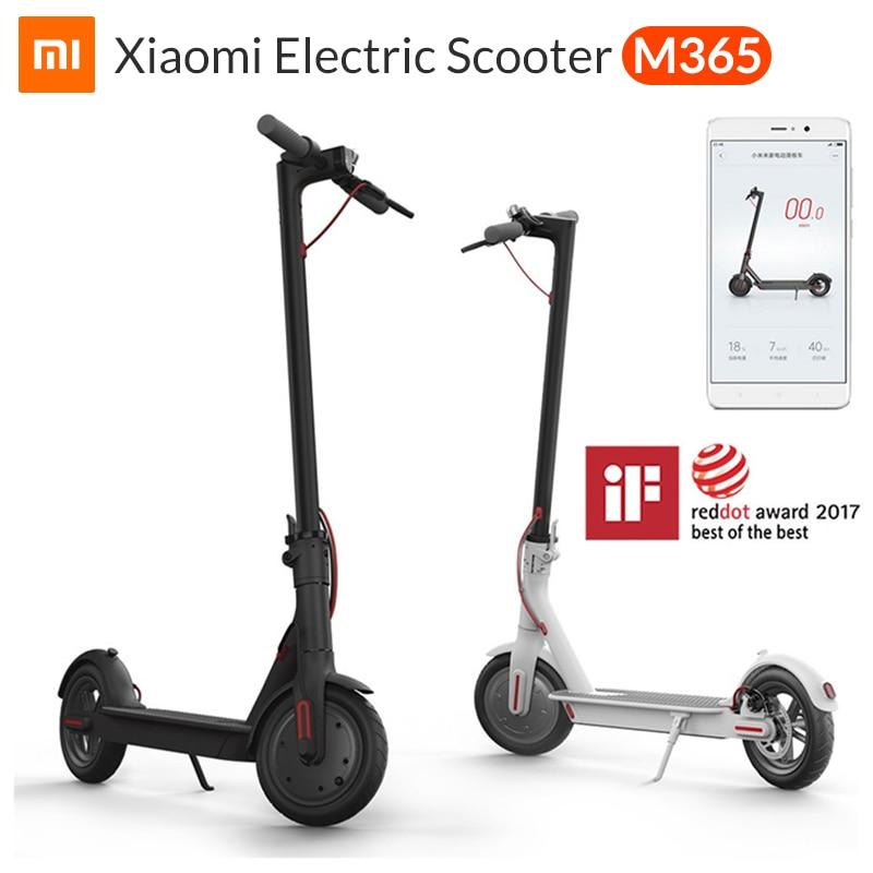 Xiaomi Mi Electric Scooter Mijia M365 Smart E Scooter Skateboard Mini Foldable Hoverboard Patinete Electrico Adult