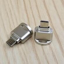 Powstro mini type C 3,1 интерфейс Поддержка Micro SD TF считыватель карт памяти OTG USB адаптер для ноутбука Смартфон