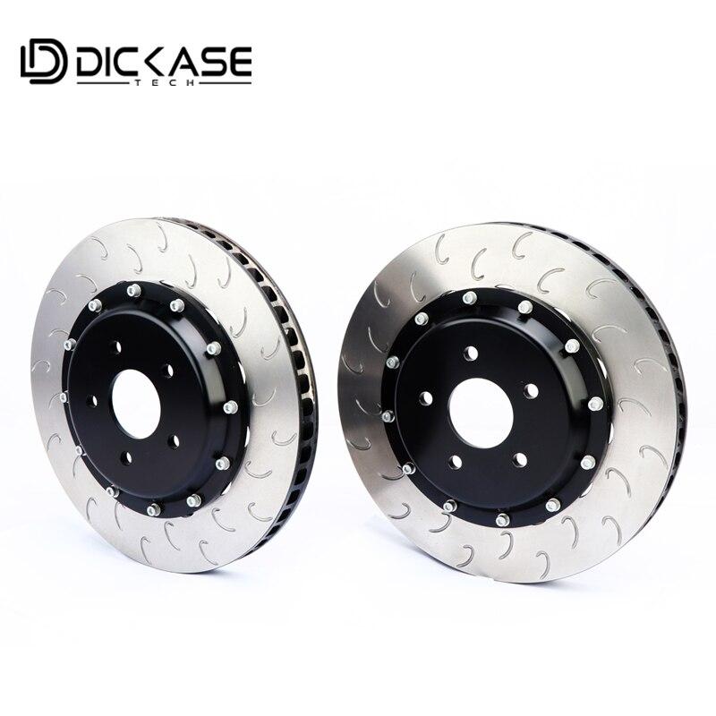 Pièce de système de frein automatique de résistance à hautes températures pour les étriers de frein à six pistons CP8520 J rotors de frein à crochet