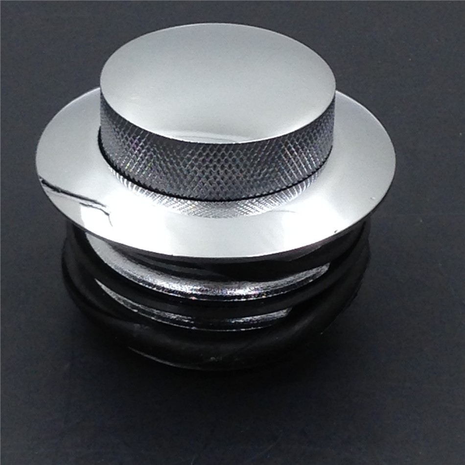Aftermarket free shipping Motorcycle Flush Pop Up Reservoir Oil Cap Vented Fuel tank for Harley bike Chromed aftermarket free shipping motorcycle partsbillet oil fluid reservoir cap for yama fzr600 yzf600r fz6 r6 r6s fz1 r1 chromed