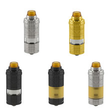 Vapor Giant v6S 23mm RTA 6ML Capacity 316ss adjustable bottom airflow Single coil Atomizer vs zeus dual/AMMIT /King/dvarw mtlrta original geekvape ammit dual coil rta tank 3ml 6ml atomizer support both dual and single coil
