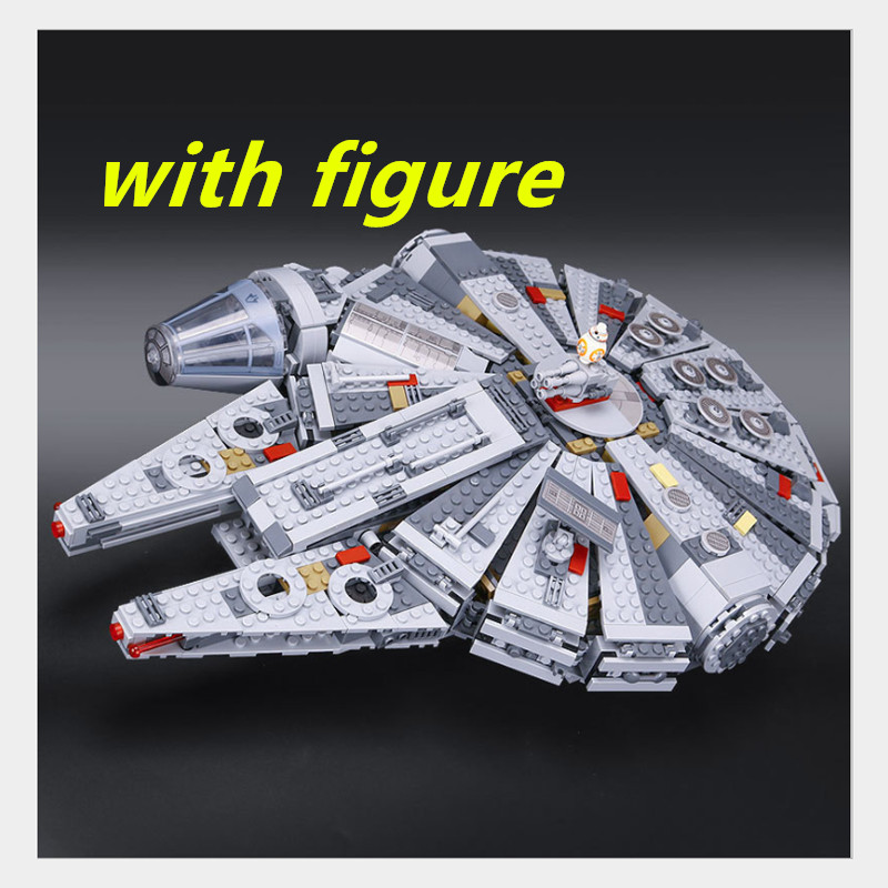 lepin Star Wars ucs millennium falcon 05007 compatible legoing starwars Millennium Falcon Building Blocks Bricks legoing 10467