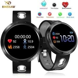 Image 1 - BINSSAW Sport Smart Watch Android Ios Fitness Tracker Blood Pressure Heart Rate Tracker Men Wristband Women Multi language Watch
