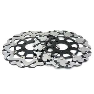 Image 3 - High Quality 2PCS CNC Motorcycle Front Floating Brake Disc Rotor For SUZUKI GSXR1300  gsxr 1300 1999 2007