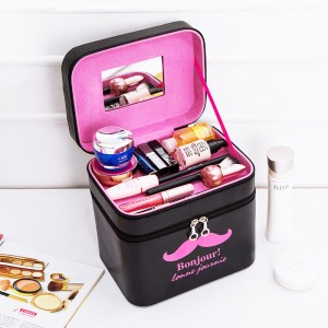 Multilayer Cosmetic Storage Box Bag Makeup Case Jewelry Packaging Beauty Organization High capacity Container Boxes Supplies