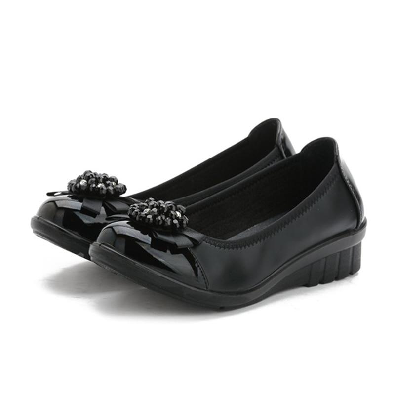 Unique 2016 Spring Women Shoes Women Flats Shoes Woman Genuine Leather Ballet