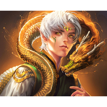 Juvenile and Chinese dragon diamond Embroidery diy painting mosaic diamant 3d cross stitch pictures H733
