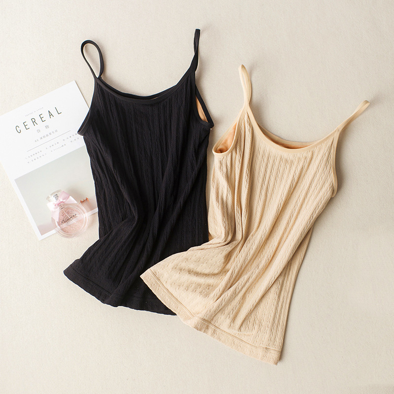 Winter   Tank     Top   Women Warm Soft Camisole   Tops   Female Bodycon Casual Slim   Tanks   Sleeveless Bottoming Vest Basic Solid T Shirts
