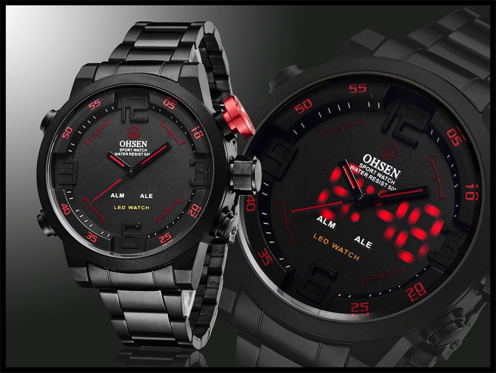 New Watch Men's Military Watches Sports Quartz Wristwatches (10)