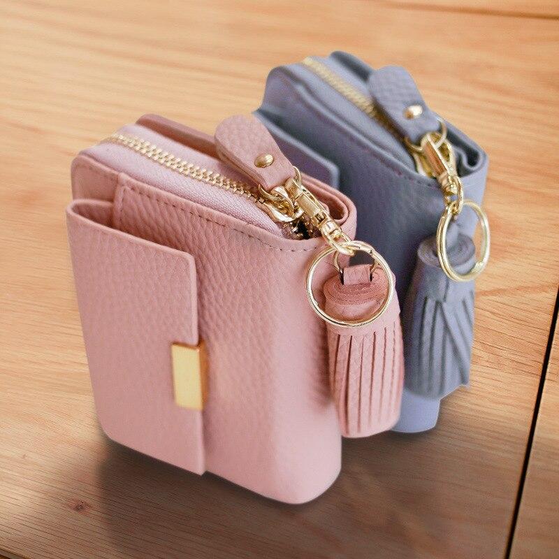 Aolen portefeuille femme zipper wallet women wallets leather 2016 luxury brand designer purse famous short messenger