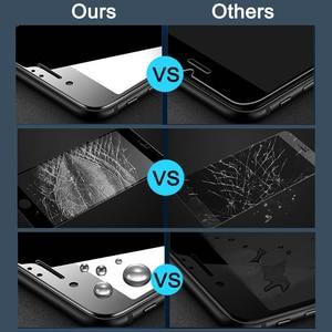 """Image 5 - 2 uds Protector de pantalla de vidrio templado para Oneplus 6 T 6,41 """"9 H vidrio Protector para OnePlus six T 1 + 6 T A6010 funda de Film"""
