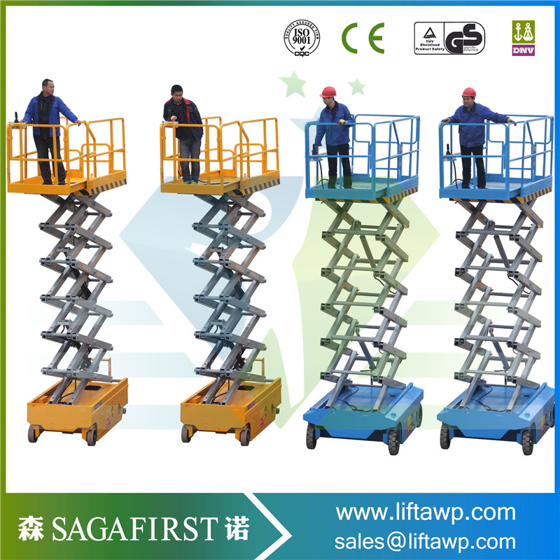 6m Mobile Self-propelled Lift Platform/hydraulic Lift Low Price For Aerial Work