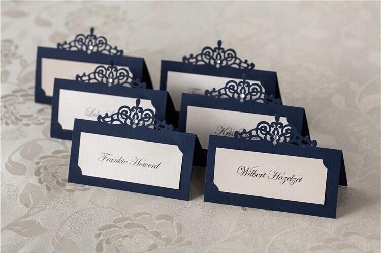 Blue Wedding Name Cards. Blue. Inspiring wedding card design