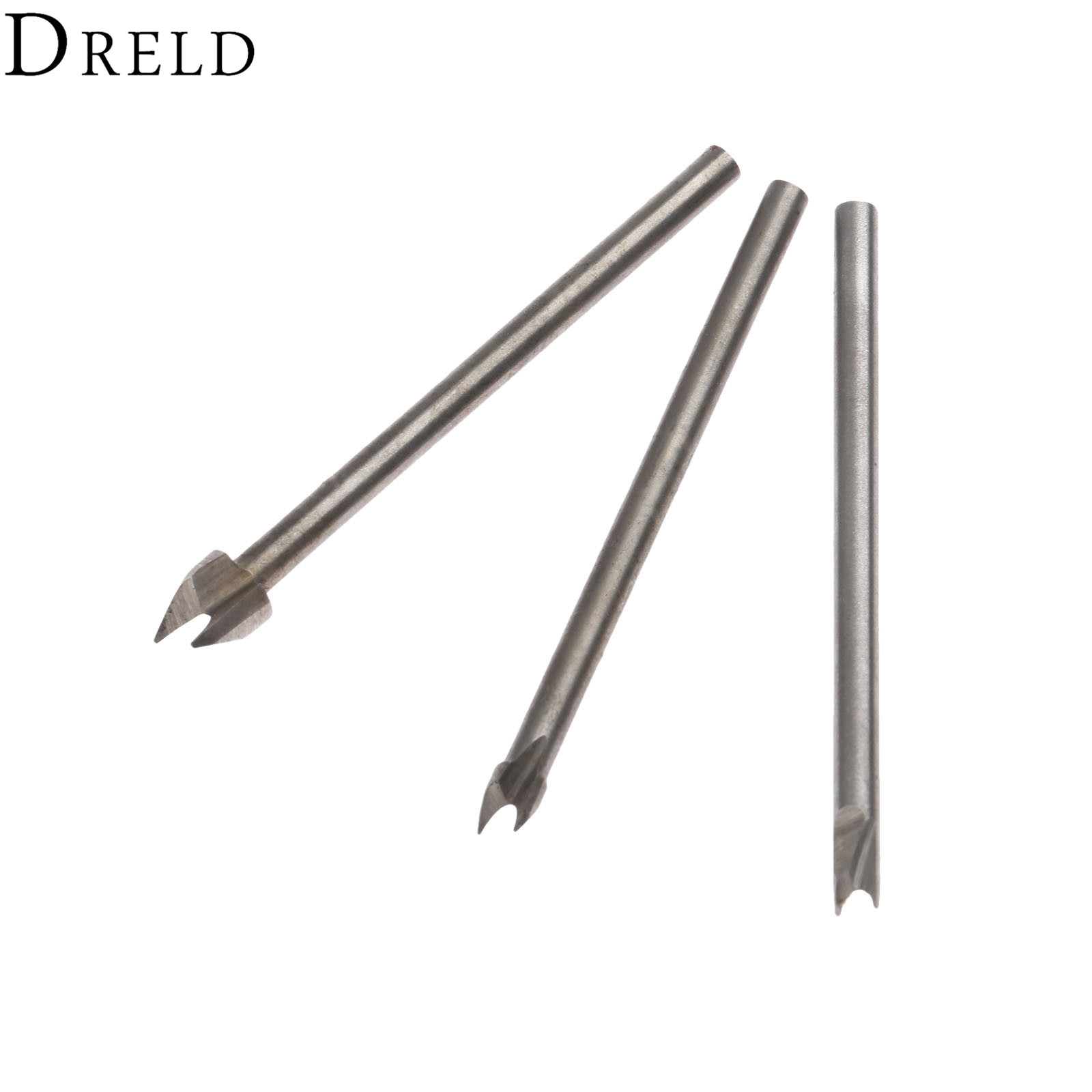 DRELD 3Pc 3mm Shank Beads Cutter Engraving Machine Woodworking Cutting Carving Chisel Tool Milling Cutter For Dremel Rotary Tool