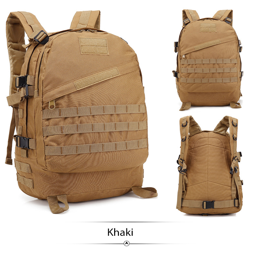 Hottest Sale 40L 3D Outdoor Sport Military Tactical climbing mountaineering Backpack Camping Hiking Trekking Rucksack Travel Bag