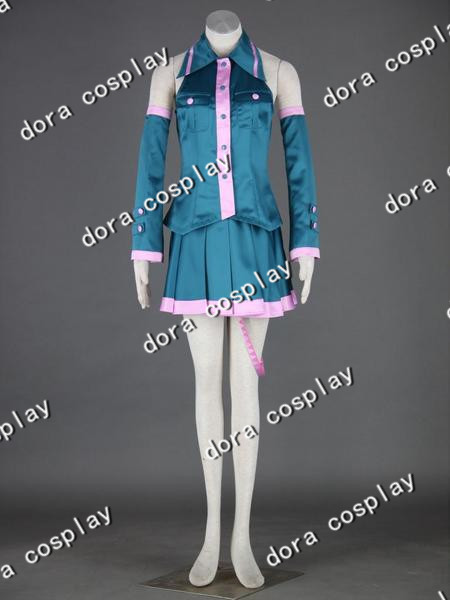 Free Shipping  anime Vocaloid  kasane teto  Cosplay Costume any size