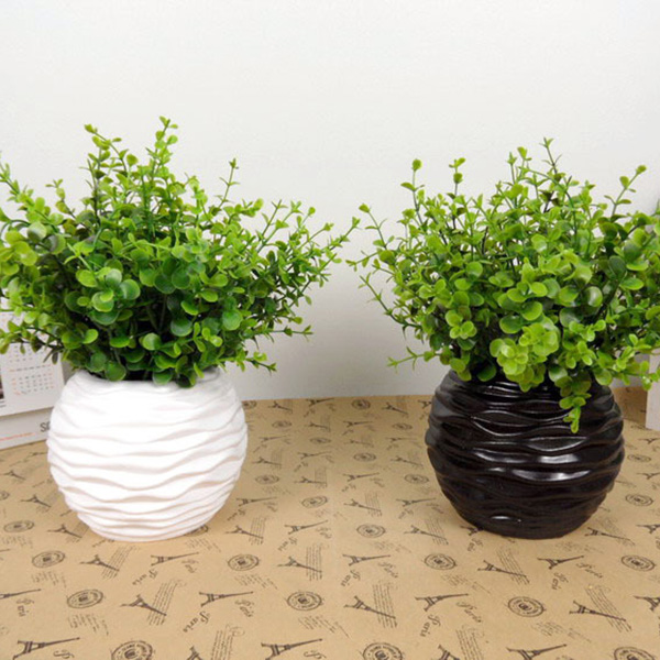 Artificial:  2019 Hot Trendy Green Party Gift Wedding Bridal Plants Garden Artificial Plant Orchid Sale Casual Floral Home Decor No pot - Martin's & Co